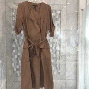 Dress greenish Brown
